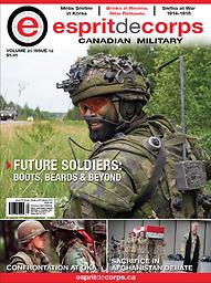 Esprit de corps, Canadian military then & now