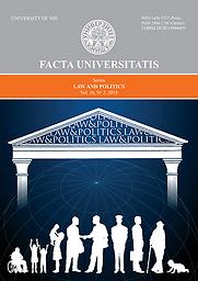 Facta Universitatis, Series: Law and Politics