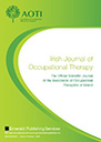 Irish journal of occupational therapy