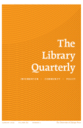 Library quarterly