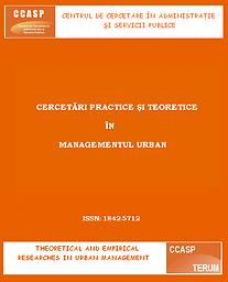 Cercetări practice şi teoretice în managementul urban