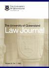 University of Queensland Law Journal