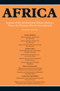 Africa : Journal of the International African Institute