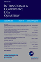 International and comparative law quarterly  : the journal of the Society of Comparative Legislation