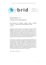 Hybrid : Revue des arts et médiations humaines = Journal of arts and human mediations