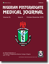 Nigerian Postgraduate Medical Journal
