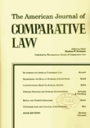 American journal of comparative law