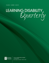 Learning disability quarterly