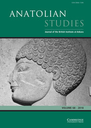Anatolian studies  : journal of the British Institute of Archaeology at Ankara
