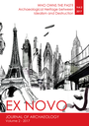 Ex Novo: Journal of Archaeology
