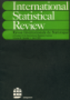 International statistical review  = Revue internationale de statistique