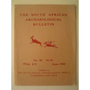 South African archaeological bulletin