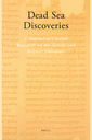 Dead Sea discoveries : a journal of current research on the scrolls and related literature