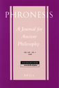 Phronesis  : a journal for ancient philosophy
