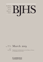 British journal for the history of science
