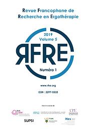 Revue francophone de recherche en ergothérapie