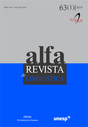Alfa : revista de linguística