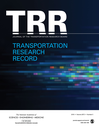 Transportation research record : Journal of the Transportation Research Board