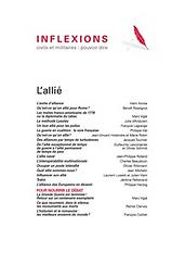 Inflexions : civils et militaires : pouvoir dire