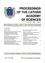 Proceedings of the Latvian Academy of Sciences  Section B, Natural Sciences