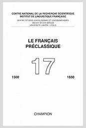Français préclassique  : 1500-1650
