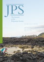 Journal of the Polynesian Society  : devoted to the study of the native peoples of Polynesia, Melanesia and Micronesia