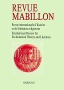 Revue Mabillon  : archives de la France monastique