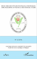 Revue Africaine d'Etudes Politiques & Strategiques