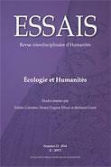Essais  : revue interdisciplinaire d'Humanités