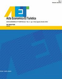 Acta Economica Et Turistica
