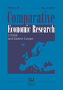 Comparative economic research. Central and Eastern Europe
