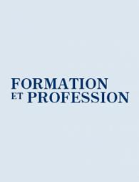 Formation et profession : revue scientifique internationale en éducation