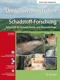Umweltwissenschaften und Schadstoff-Forschung