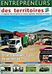 Entrepreneurs des territoires magazine  : la revue du Mouvement des entrepreneurs de services agricoles, forestiers et ruraux