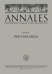 Annales Universitatis Mariae Curie-Skłodowska, sectio K – Politology