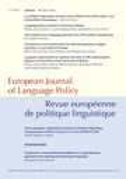 European journal of language policy