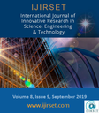 International journal of innovative research in science, engineering and technology