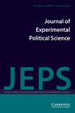 Journal of experimental political science