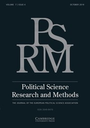 Political science research and methods  : the journal of the european political science association