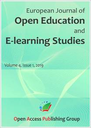 European Journal of Open Education and E-learning Studies