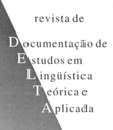 DELTA. Documentação de estudos em linguística teórica e aplicada