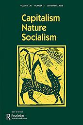 Capitalism, nature, socialism