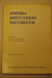 Historia. Instituciones. Documentos