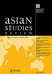 Asian studies review