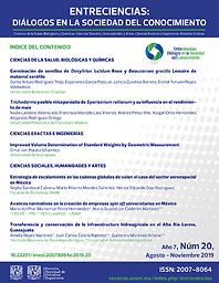 Entreciencias : Diálogos en la Sociedad del Conocimiento