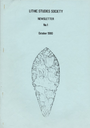 Lithics - The Journal of the Lithic Studies Society