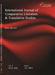International Journal of Comparative Literature and Translation Studies