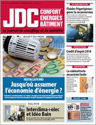 Journal du chauffage et du sanitaire  : plomberie, climatisation, ventilation, régulation, électricité