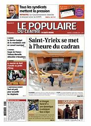 Populaire du Centre. Edition de la Haute-Vienne