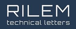 RILEM Technical Letters